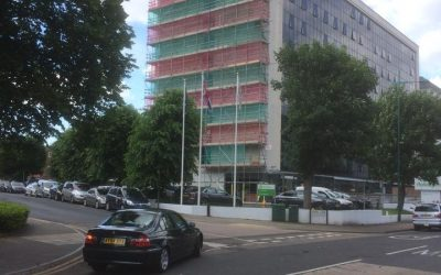 Central London High Rise Scaffold