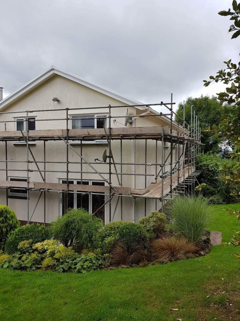 Residential Scaffold for painting